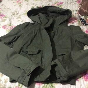 Jackets & Blazers - Green Army Jacket